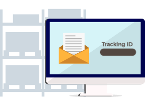 E-Mail With Tracking Number